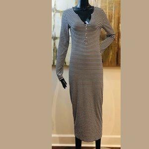 Free People Beach Costas Striped Maxi Dress